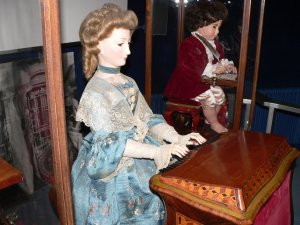 Female Automaton at Piano
