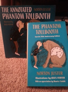 "My copies of ""The Phantom Tollbooth"""