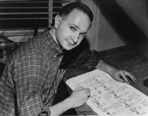 A picture of illustrator Jules Feiffer