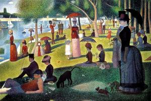 """A Sunday Afternoon on the Island of Le Grande Jatte"" by George Seurat"