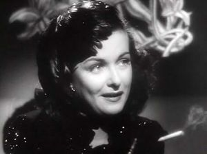 "Joan Bennet in the Fritz Lang film noir ""The Woman in the Window"""