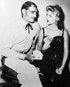 "Peggy Castle, the Femme Fatale in the film ""Lawman"", and John Russell"