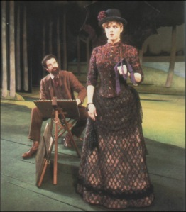 Bernadette Peters and Mandy Patinkin in Sunday in the Park with George