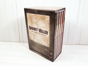 "The complete set of all 8 seasons of ""Barney Miller"", released last year."