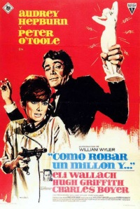 "A foreign film poster for ""How to Steal a Million"""