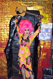 The drag queen Miss Understood, as captured by David Shankbone (via Flickr)