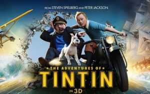 "A Promotional Poster for ""The Adventures of TinTin"""