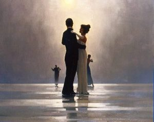 """Dance Me to the End of Love"" by Jack Vettriano"