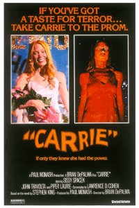The film Carrie explores the way in which the things that scare us most can give us the most power.