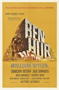 The original film poster of the 1959 biblical epic Ben-Hur