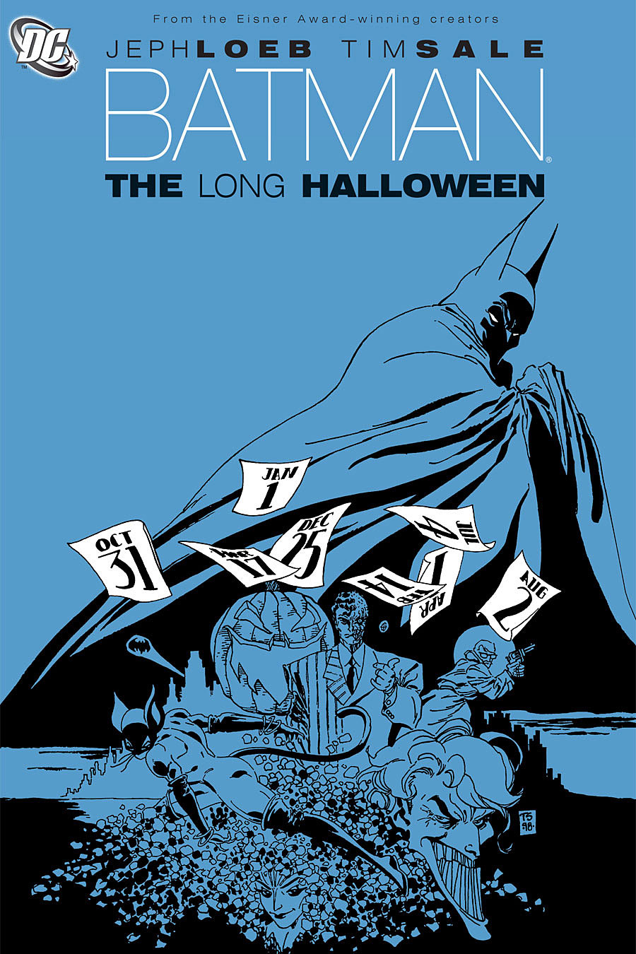 "inspiration – ""the long halloween"" and graphic literature 