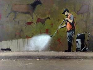 Art by Bansky