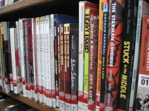 Graphic novels can now be found at most local libraries - but that wasn't always the case. (Photo by Alaska Library Association via Flickr)