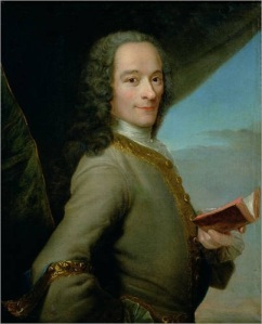 Voltaire, painted by Maurice Quentin de la Tour in 1737
