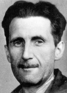 Author George Orwell in the 1940s.